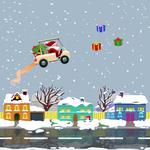 Rocket Santa - Collect all presents!